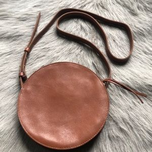 New Madewell circle Crossbody Bag